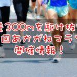 2019年12月8日 第3回あかがねマラソン情報!7月1日受付開始!
