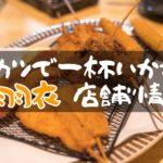 敷島通りの串カツ屋さん「串と旬 天の羽衣」で一杯いかがですか?