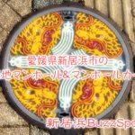 ブーム到来?!愛媛県新居浜市のご当地マンホールを探せ!