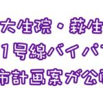 大生院・萩生 国道11号新居浜バイパス都市計画案を縦覧しよう!