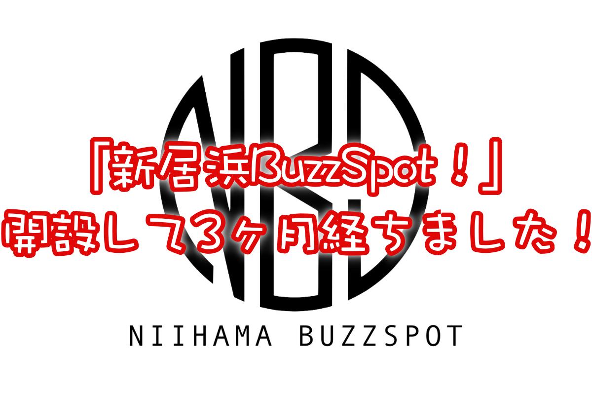 新居浜BuzzSpot!サイト運営報告 開設から3ヶ月が経ちました!